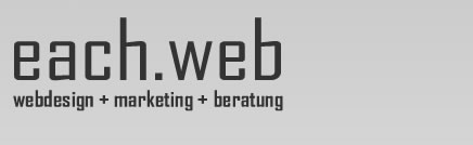 each-web -webdesign + programmierung + hosting